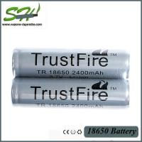 Wholesale Grade A 18650 Mechanical Mod Battery / li-ion Battery 2400mAh 3.7V from china suppliers
