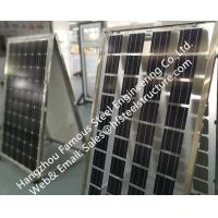 Quality Photovoltaic Cells Ventilated Façade Curtain Wall Single Glass Polycrystalline or Single Crystal Component for sale
