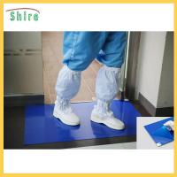 Wholesale Customized Size Mud Catcher Clean Room Sticky Mats For Shoes No Chemicals from china suppliers