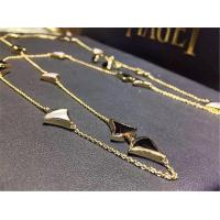 Wholesale Luxury jewelry Bvlgari factory  Long Necklace 18k gold white gold yellow gold rose gold   necklace from china suppliers