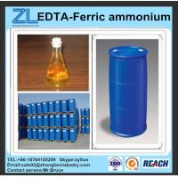 Buy cheap reddish brown liquid EDTA-Ferric ammonium from wholesalers