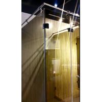Wholesale Fabric Lamination Glass Panels for Shower Partition , 10 - 13mm Thickness from china suppliers