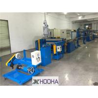 China 1.5mm -8mm Copper Wire Cable Making Machine /Extrusion Machine  80-120m/min output on sale