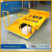Buy cheap China manufacturer high quality steel plates flat pallet transfer trolley from wholesalers