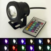 Wholesale RGB 10W LED Underwater Light DC12V Waterproof IP68 LED Lamp for Fountain Pool Lighting from china suppliers