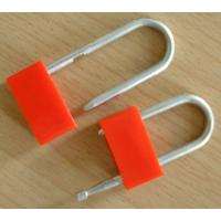 Wholesale Galvanized Perch Red Plastic Padlock Security Seals For Truck / Trailer from china suppliers