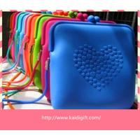 Wholesale anti-dust Silicone Coin Purse Pouch Eco-friendly For Women from china suppliers