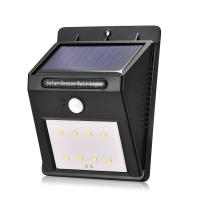 Wholesale outdoor waterproof 8led Solar Power motion sensor Wall Light for Garden,Yard and corridor from china suppliers