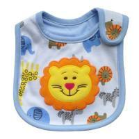 Wholesale Kids Feeding Custom Baby Bibs Disposable Toddler Bibs with Lion Cartoon from china suppliers