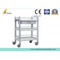 Wholesale ABS Nursing Equipment Medical Trolley Hospital Instrument Cart With Push Handle (ALS-MT110) from china suppliers