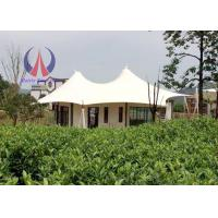 Wholesale Prefabricated Luxury Tent Hotel With Membrane Roof Simple Decoration from china suppliers