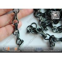 Quality Black Color 2.0mm Double Hook Aluminum Chain Curtain Divider | China Exporter for sale