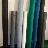 Wholesale casement fiber mesh screen in white / black / gray color is fireproofing from china suppliers