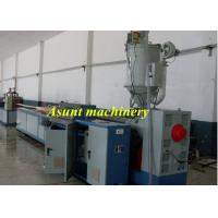 Quality Wall Panel PVC Profile Extrusion Process 24 - 34kw With Cutting machine for sale