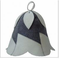 Wholesale wool felt sauna hat from china suppliers