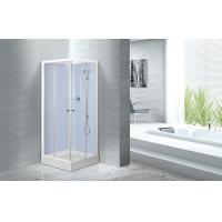Wholesale Waterproof White Painted Profiles Glass Shower Cabins , Glass Shower Stall Kits from china suppliers