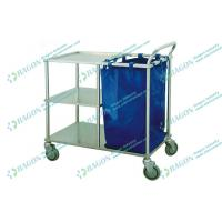 Wholesale Stainless Steel Linen Trolley for marking up bed and nursing for hospital from china suppliers