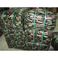 Quality camo/green reversible polyethylene tarpaulin for sale