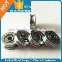 Wholesale U Groove/ V Groove Non-Standard Ball Bearing 608 626 ZZ RS Customized from china suppliers