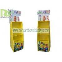 Wholesale Four Tier Style Skincare POP Cardboard Displays / Shelf , 100% recyclable from china suppliers