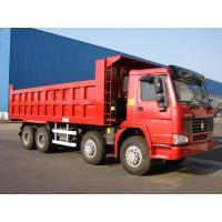 Wholesale HOWO 8*4-371HP-27cbm-Dump tipper truck-one bed from china suppliers