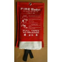 Wholesale 1.8m*1.8m 1.5m*1.5m en1869:1997 eversafe fire blanket 1.1M X 1.1M with handles from china suppliers