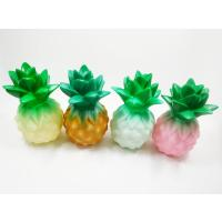 Wholesale Plastic Pineapple Shaped LED Night Light Table Lamps toy gifts from china suppliers