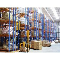 Wholesale 5000KG spray paint narrow storage rack with forklift works , customized from china suppliers