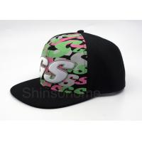 Wholesale Hip Hop 100% Cotton Printed Baseball Caps 6 Panel Adjustable 56 - 60cm from china suppliers