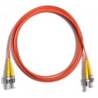 Wholesale 62.5/125 Duplex orange Fiber Optic Patch Cord , 5Mtrs PVC cable from china suppliers
