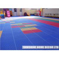 Wholesale Polypropylene Interlocking Futsal Court Flooring Tile , Indoor Sports Flooring from china suppliers