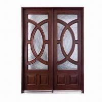 Solid Wood Exterior Doors With Side Light Frame Architraves And Glass Of Item 97686172