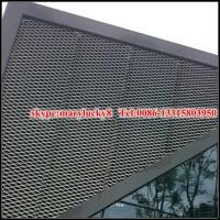 Buy cheap decorative aluminium expanded mesh building facade from wholesalers