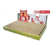 Wholesale Fancy Glossy Corrugated Cat Scratcher With Animal Shaped from china suppliers