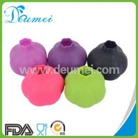 Wholesale Kitchen Tool Food Grade Garlic Shaped Silicone Rubber Garlic Roller Peeler from china suppliers