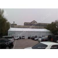 Wholesale White Tarpaulin Cover Aluminium Frame Tents , Parties And Events Unique Marquee Hire from china suppliers