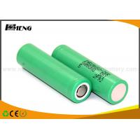 Wholesale 2500mah Green vape batteries 18650 Samsung 25R 20A high discharge from china suppliers