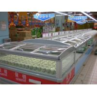 Wholesale Big Shopping Mall Supermarket Island Freezer Remote Cooling System Combine Type from china suppliers