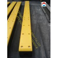 Wholesale High Strength Marine Dock Bumpers , D Bore Square Rubber Fender from china suppliers