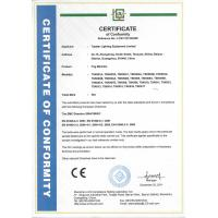 Topstar lighting equipment limited Certifications