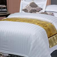 Quality Combed Cotton Hotel Bed Linens Bedding Sets Queen size For Hotel for sale