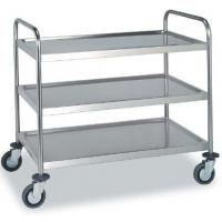 Wholesale 3 Tiers Stainless Steel Trolley for Restaurant or Kitchen Use (HK-SS-T02) from china suppliers