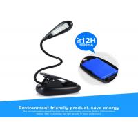 Quality Portable Emergency Led Clip On Book Light with Gooseneck Pole 1000mah battery for sale