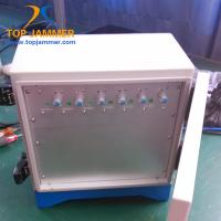 Quality 6 Bands 90W Waterproof High Power Jammer Blocker 3G 4G Mobile Signal Prison School Outside for sale