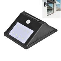 Wholesale Security Outdoor Lighting Solar Powered Backyard Lights , 8 LEDs Garden Wall Solar Lights from china suppliers