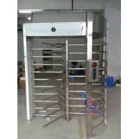 Wholesale Indonesia Prison high full height turnstile barrier one track entrance from china suppliers