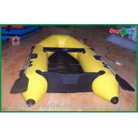 Wholesale Heat Sealed Customized 0.9MM PVC Inflatable Boats , Rigid Inflatable Boat from china suppliers