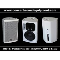 "Wholesale Pro Sound DJ Equipment / 1""+10"" Full Range 250W White Plywood Speaker For Installation from china suppliers"