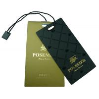 Wholesale Custom Clothing Hang Tags With String , Plastic Price Tag For Clothes from china suppliers