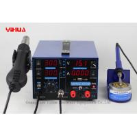 Wholesale YIHUA 853D 2A with USB 3 IN 1 soldering station rework station iron handle from china suppliers